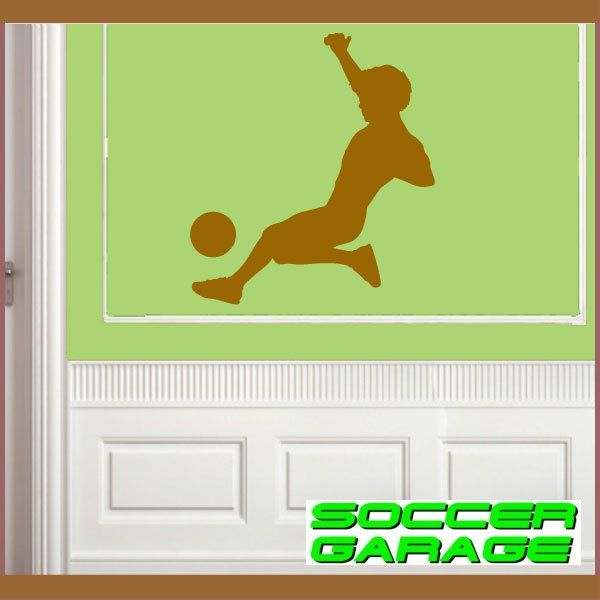 Soccer Graphic Wall Decal - model SoccerST058