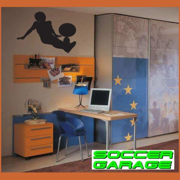 Soccer Graphic Wall Decal - model SoccerST064
