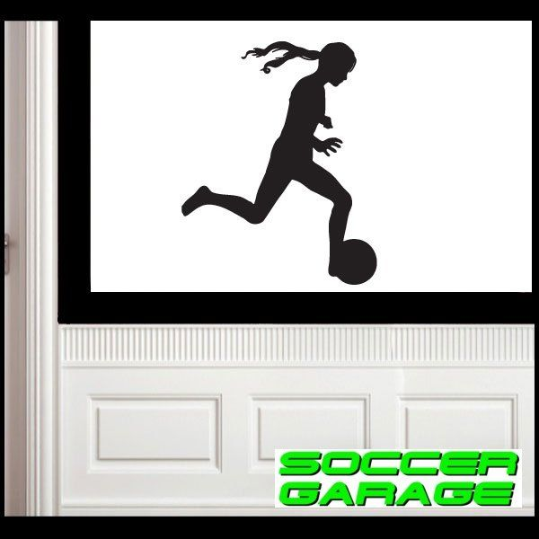 Soccer Graphic Wall Decal - model SoccerST068