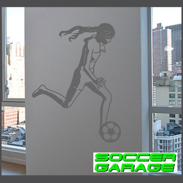 Soccer Graphic Wall Decal - model SoccerST069