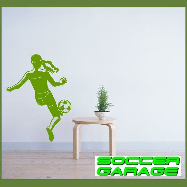 Soccer Graphic Wall Decal - model SoccerST071