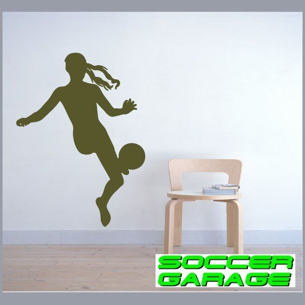Soccer Graphic Wall Decal - model SoccerST072