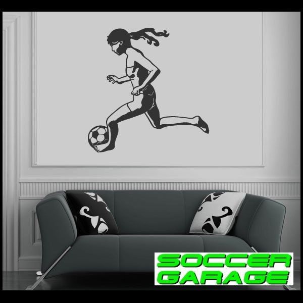 Soccer Graphic Wall Decal - model SoccerST073