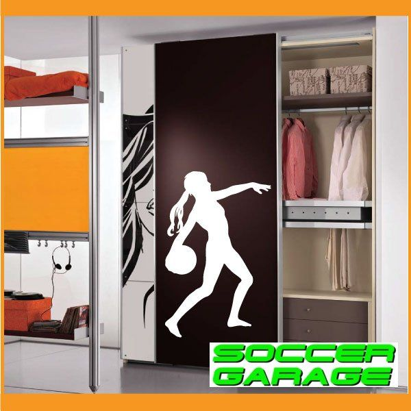Soccer Graphic Wall Decal - model SoccerST078