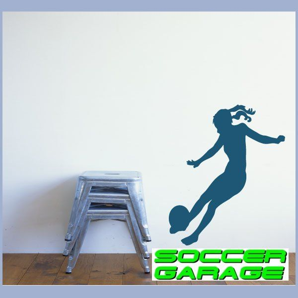 Soccer Graphic Wall Decal - model SoccerST080