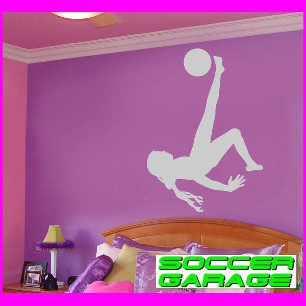 Soccer Graphic Wall Decal - model SoccerST082