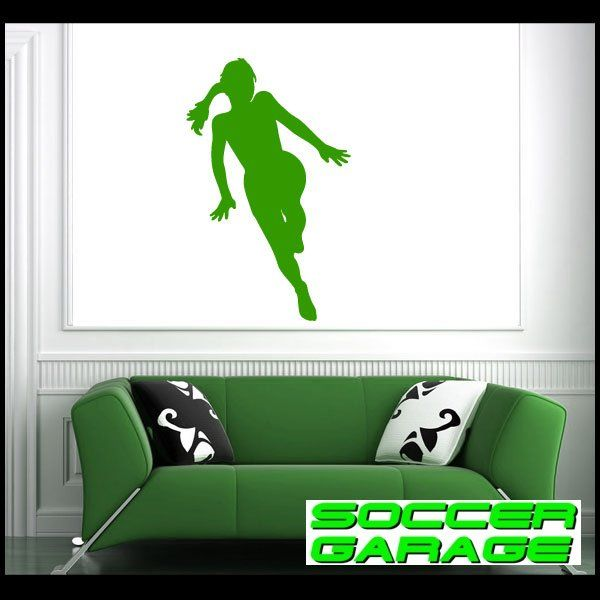 Soccer Graphic Wall Decal - model SoccerST084