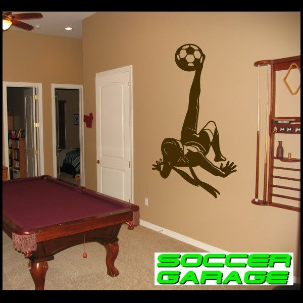 Soccer Graphic Wall Decal - model SoccerST085
