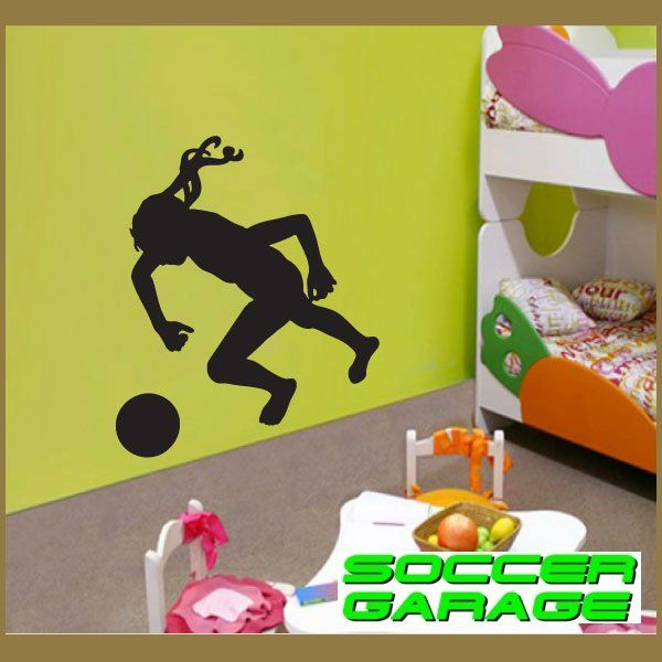 Soccer Graphic Wall Decal - model SoccerST088
