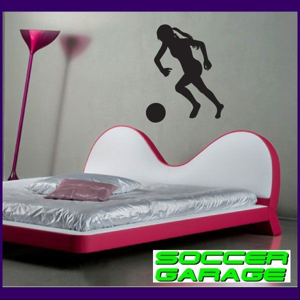 Soccer Graphic Wall Decal - model SoccerST090