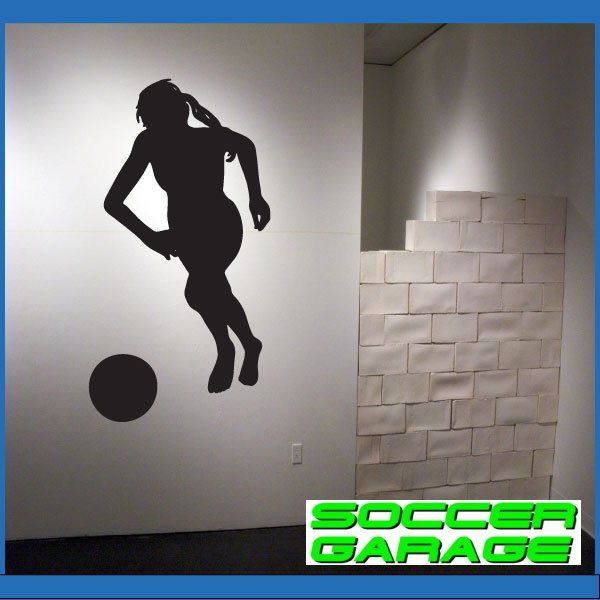 Soccer Graphic Wall Decal - model SoccerST092
