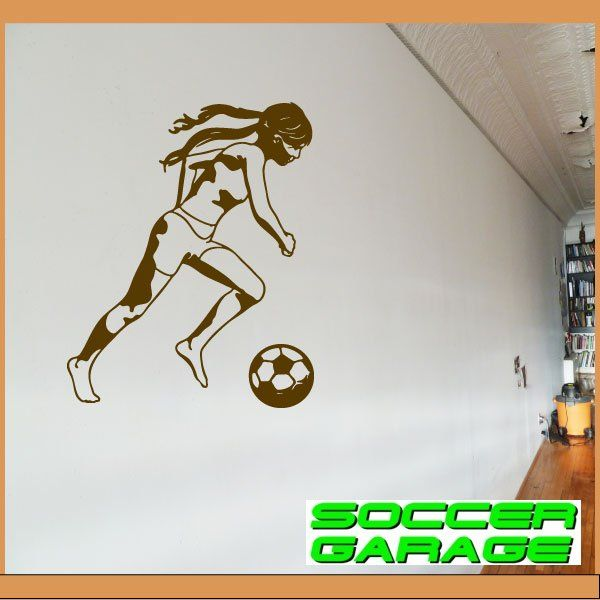 Soccer Graphic Wall Decal - model SoccerST093