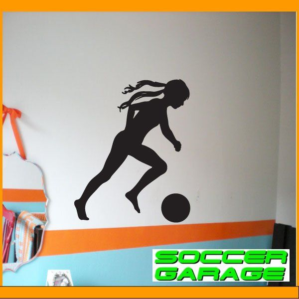 Soccer Graphic Wall Decal - model SoccerST094