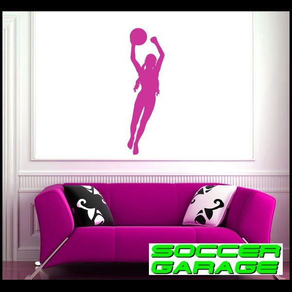 Soccer Graphic Wall Decal - model SoccerST100