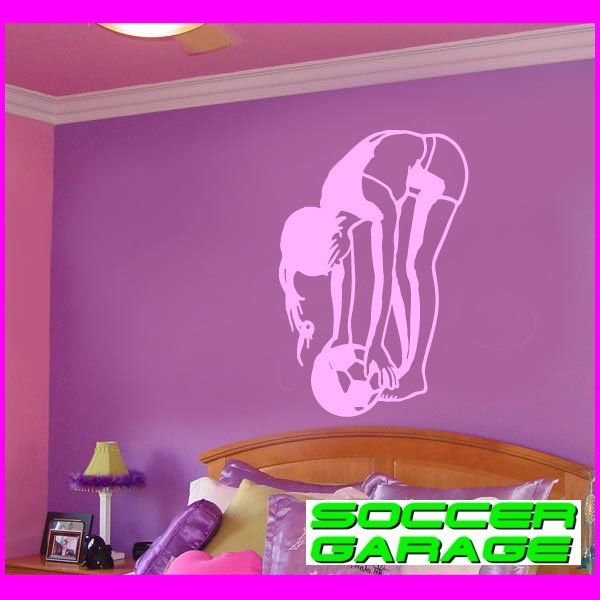 Soccer Graphic Wall Decal - model SoccerST101