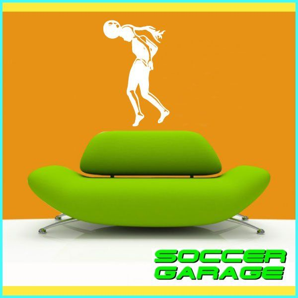 Soccer Graphic Wall Decal - model SoccerST105
