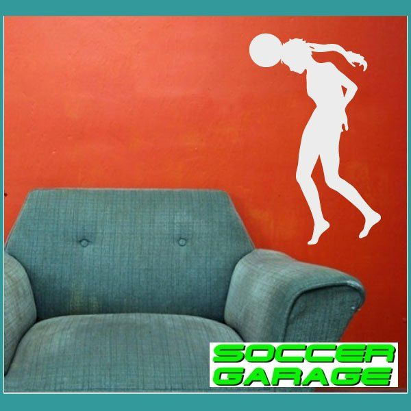Soccer Graphic Wall Decal - model SoccerST106