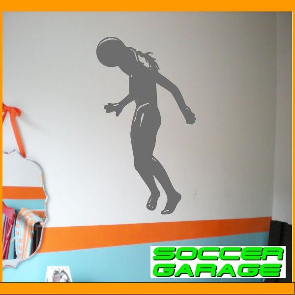 Soccer Graphic Wall Decal - model SoccerST107