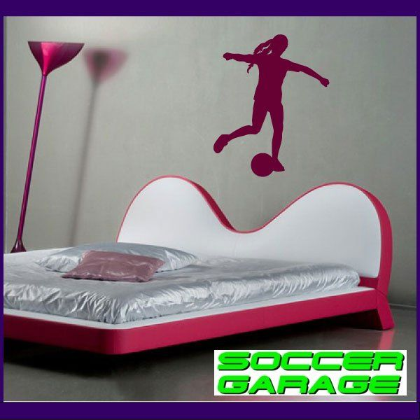 Soccer Graphic Wall Decal - model SoccerST110