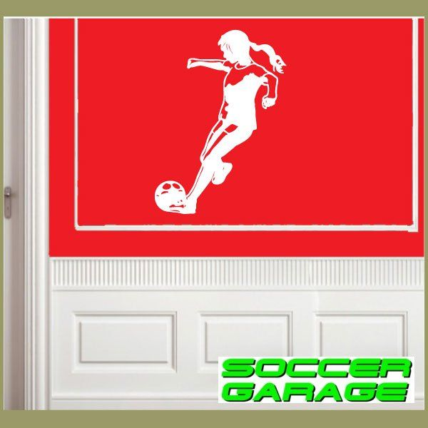 Soccer Graphic Wall Decal - model SoccerST113