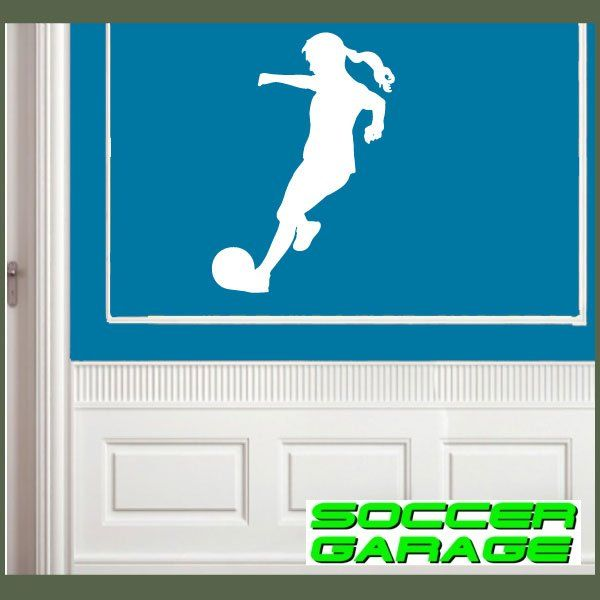 Soccer Graphic Wall Decal - model SoccerST114