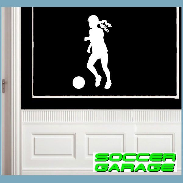 Soccer Graphic Wall Decal - model SoccerST116