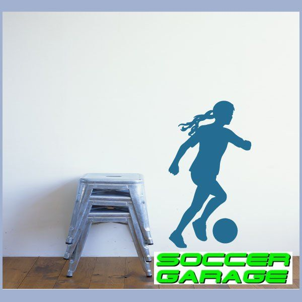 Soccer Graphic Wall Decal - model SoccerST118