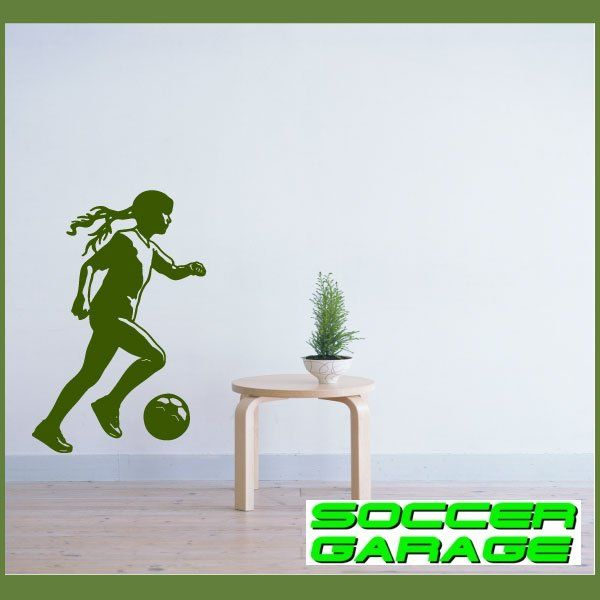 Soccer Graphic Wall Decal - model SoccerST119