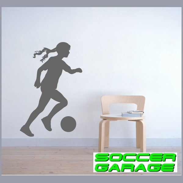 Soccer Graphic Wall Decal - model SoccerST120