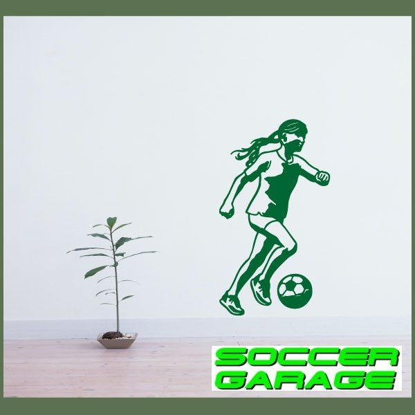 Soccer Graphic Wall Decal - model SoccerST121