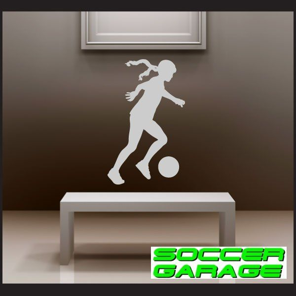 Soccer Graphic Wall Decal - model SoccerST122
