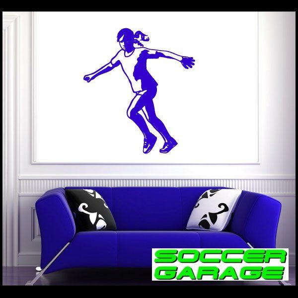 Soccer Graphic Wall Decal - model SoccerST123