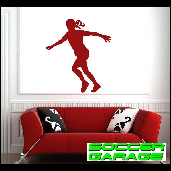 Soccer Graphic Wall Decal - model SoccerST124