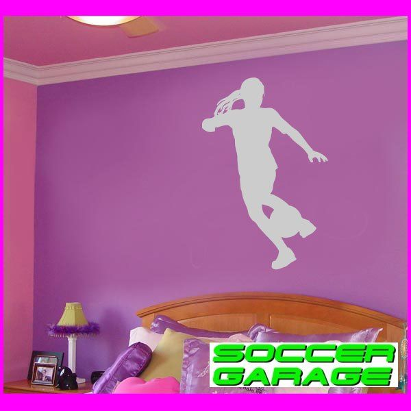 Soccer Graphic Wall Decal - model SoccerST126