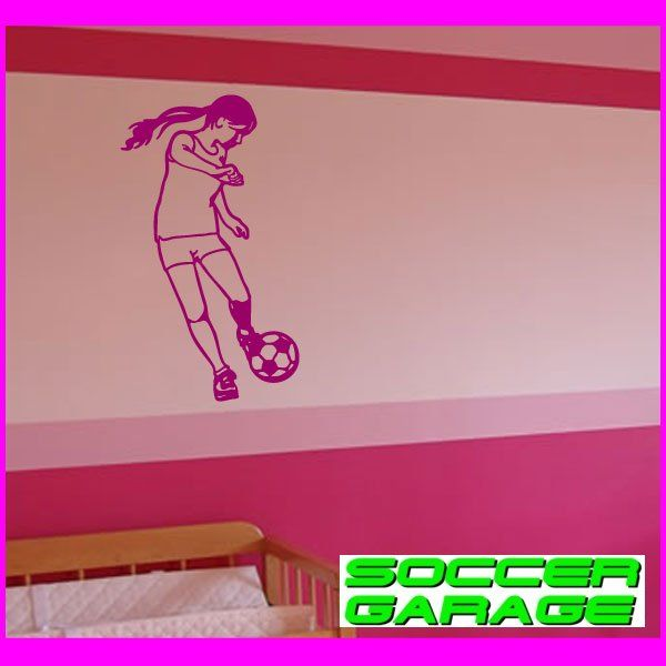 Soccer Graphic Wall Decal - model SoccerST127