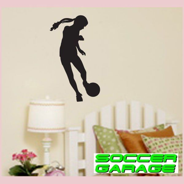 Soccer Graphic Wall Decal - model SoccerST128