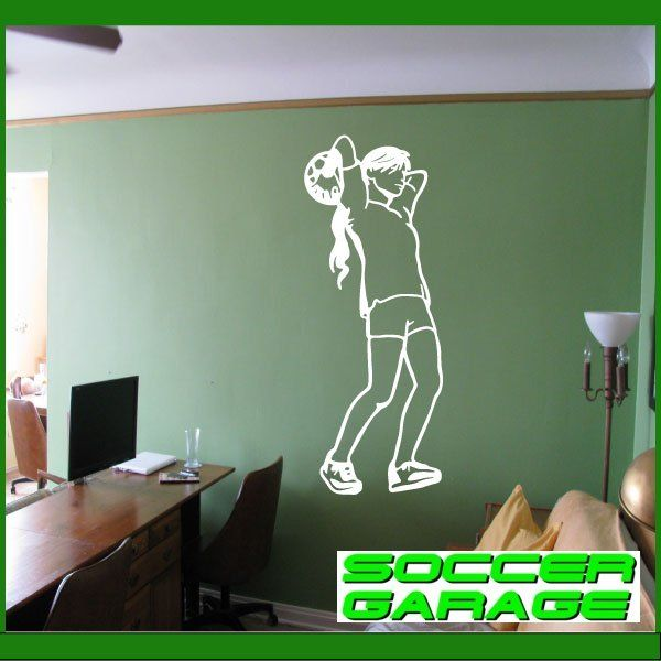 Soccer Graphic Wall Decal - model SoccerST129