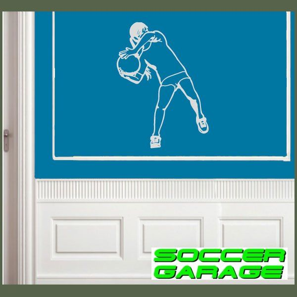 Soccer Graphic Wall Decal - model SoccerST131