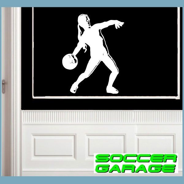 Soccer Graphic Wall Decal - model SoccerST133