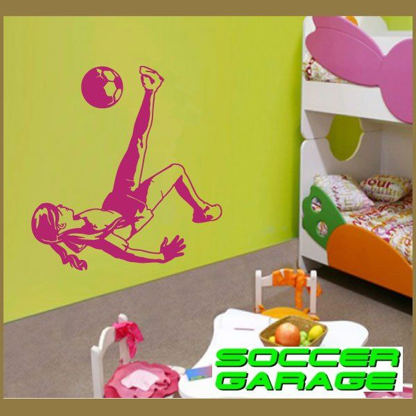 Soccer Graphic Wall Decal - model SoccerST135