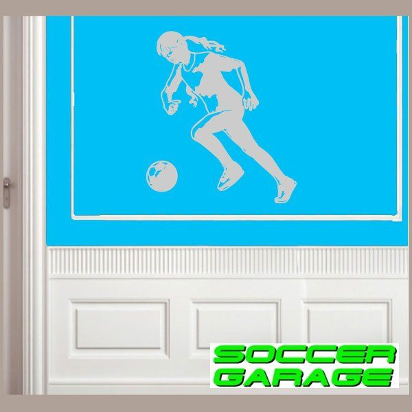 Soccer Graphic Wall Decal - model SoccerST137