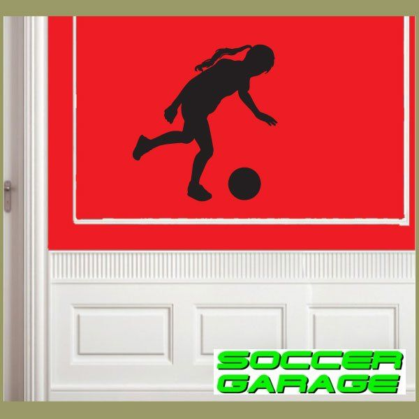 Soccer Graphic Wall Decal - model SoccerST140