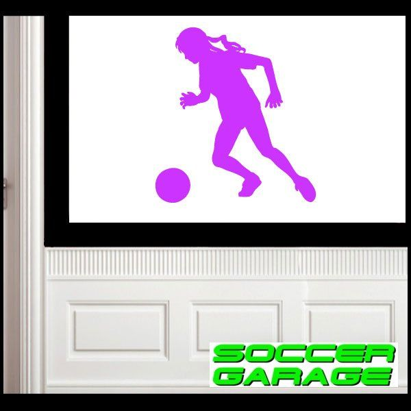 Soccer Graphic Wall Decal - model SoccerST142