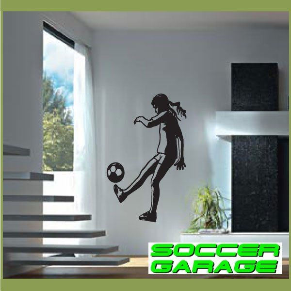 Soccer Graphic Wall Decal - model SoccerST143