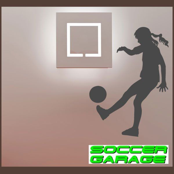 Soccer Graphic Wall Decal - model SoccerST144