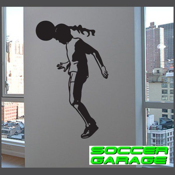 Soccer Graphic Wall Decal - model SoccerST145