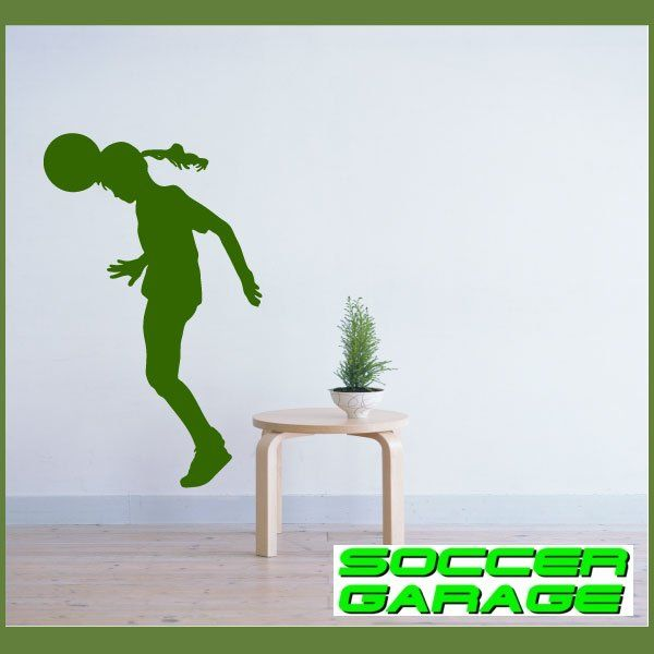 Soccer Graphic Wall Decal - model SoccerST146