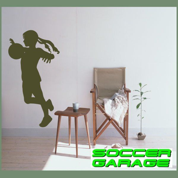 Soccer Graphic Wall Decal - model SoccerST150