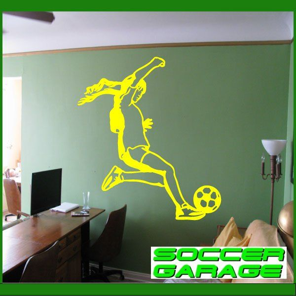 Soccer Graphic Wall Decal - model SoccerST151