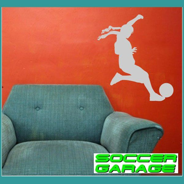 Soccer Graphic Wall Decal - model SoccerST152